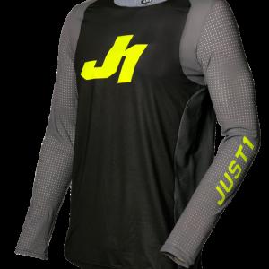 JERSEY JUST1 J-FLEX ARIA DARK GREY – FLUO YELLOW