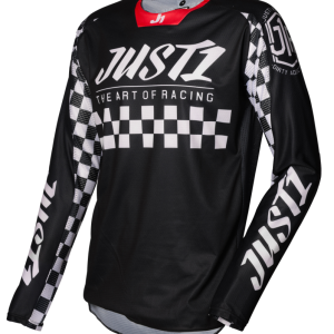 JERSEY JUST1 J-FORCE RACER BLACK – WHITE