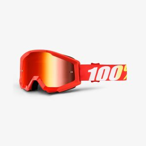 Strata Goggle Furnace Mirror Red Lens