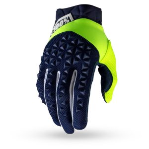 Guantes / Gloves 100% Airmatic Navy / Fluo Yellow