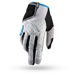 Guantes / Gloves 100% Simi Grey / Cyan