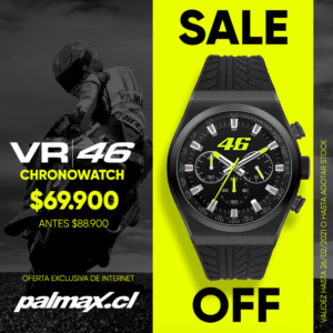 Reloj Cronógrafo   VR46