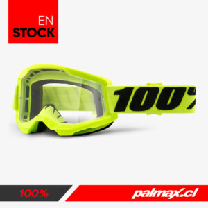 Antiparra Strata 2 Fluo Yellow Clear Lens   100%