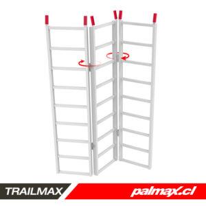 Rampa de tres pliegues de aluminio | TRAILMAX