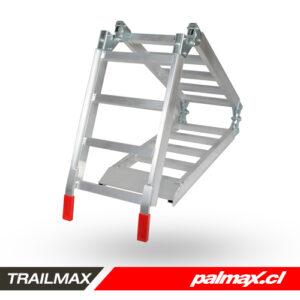 Rampa triple plegable de aluminio | TRAILMAX
