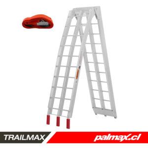 Rampa doble de aluminio | TRAILMAX