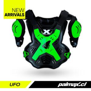 Protector de pecho X-Concept Green Fluo | UFO