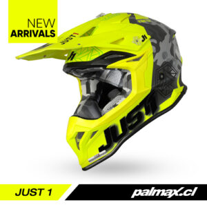 Casco J39 Kinetic Lime Fluo Yellow   JUST 1