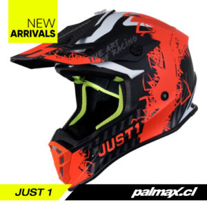 Casco J38 Mask Fluo Orange   JUST 1