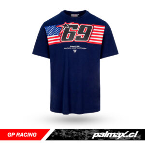 Polera Nicky Hayden American Flag 69 Blue | GP RACING