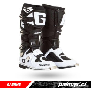Botas Mx / Enduro SG12 White Black | GAERNE