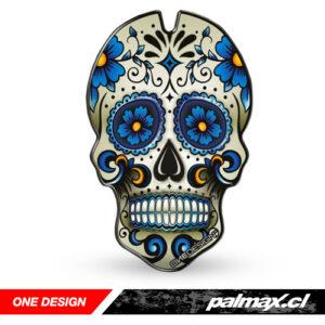 "Protector de estanque ""Skull Blue"" | ONE DESIGN"