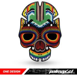 "Protector de estanque ""Skull Colored"" | ONE DESIGN"