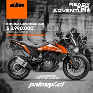 Moto KTM 250 Adventure 2021 | KTM