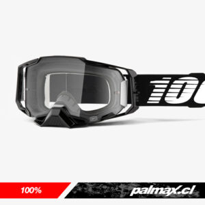 Antiparra Armega Black Clear Lens |100%