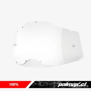 Mica de antiparras clear Gen 2 (Racecraft 2, Accuri 2 y Strata 2) | 100%