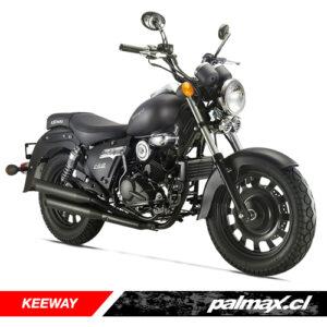 Moto Superlight 200 negra (2021) | KEEWAY