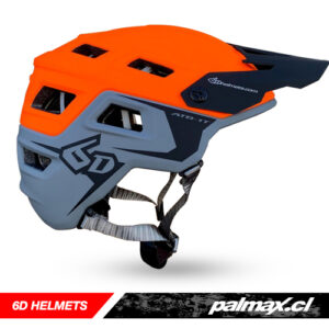 Casco Trail ATB-1T Grey Orange | 6D HELMETS