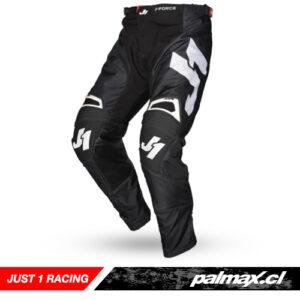 Pantalón MX (Adulto) J-Force Terra Black White | JUST 1 RACING