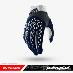 Guantes Airmatic Navy/Steel/White | 100 Percent